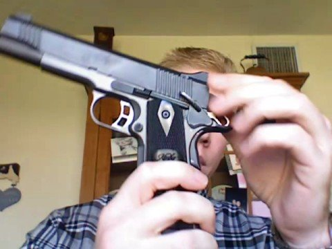 Kimber 1911 Firearm Safety