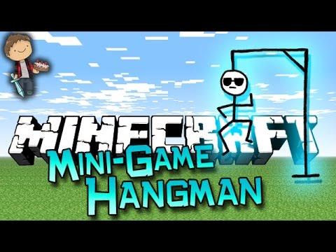 Minecraft NEW FUNNY Mini-Game: Hangman 1.8 w/Mitch, Lachlan and Vikk!