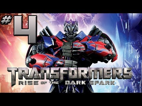 Transformers Rise of the Dark Spark Walkthrough - PART 4 - Sideswipe & Ironhide in Getaway