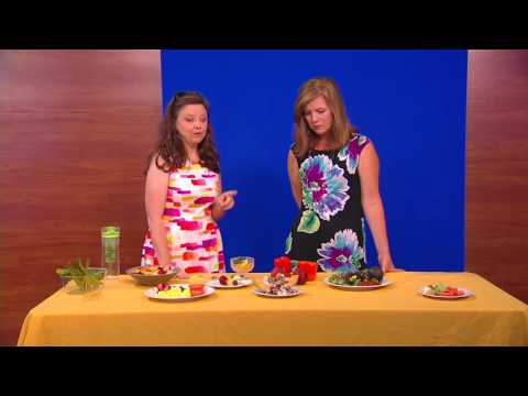 Healthy Eating - Summer Fruits and Vegetables