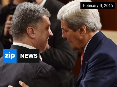 John Kerry To Hold Talks In Ukraine - Feb 6, 2015