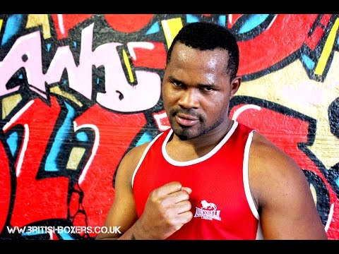 Olympic Heavyweight 'Blaze' links up with Pat Barrett