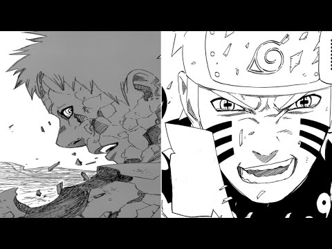 Naruto Manga Chapter 687 Review -- End Of Obito Uchiha ナルト Naruto Gets Angry!!! video
