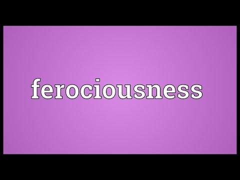 Header of ferociousness