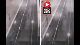 Creepy Ghost Train Caught On CCTV Footage In China