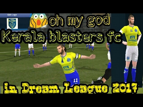 HOw to download kerala blasters kit and logo in dream league 2017