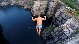 Vermont Cliff Jumping up to 110 feet