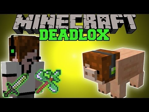 Minecraft: DEADLOX MOD DEADLY PETS AND THE ULTIMATE TOOL Team Crafted Mod Showcase