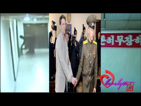 North Korea releases video of American student committing the 'crime' that got him sentenced to15yrs