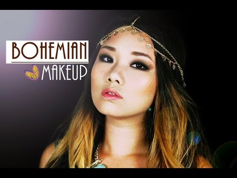 *~BOHEMIAN SMOKEY EYE MAKEUP*~ (Monolids)