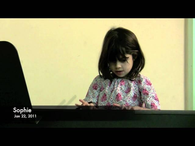 Sophie's Winter Recital 2011