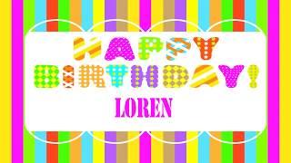 Loren   Wishes & Mensajes - Happy Birthday