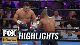 Joey Spencer Jr. defeats Akeem Black by unanimous decision | HIGHLIGHTS | PBC ON FOX