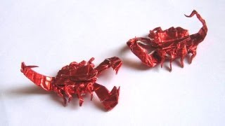 Origami Scorpion By Robert J. Lang (part 6 Of 7)