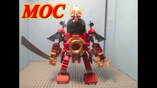 How to Build: Lego Ninjago Samurai Mech MOC