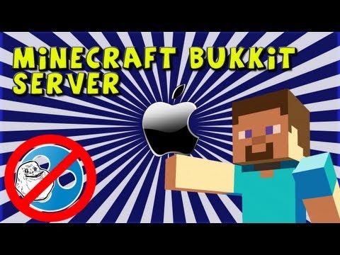 (Mac) How to make a Minecraft Bukkit server (any update):: No Hamachi- Super Easy!