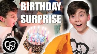 SURPRISE BIRTHDAY GIFT | OPENING PRESENTS on 12th BIRTHDAY | HAPPY BIRTHDAY PARTY | PHILLIPS FamBam