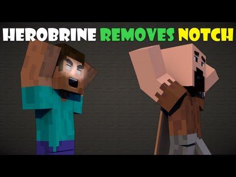 If Herobrine Removed Notch Minecraft