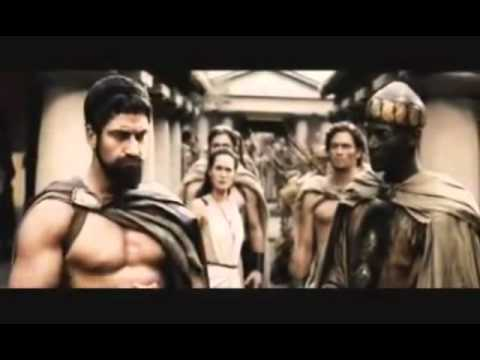 300 спартанцев - Три сотки, блять! (смешная озвучка JFB)