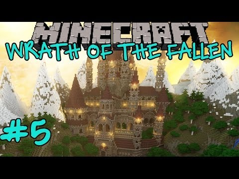 Minecraft: Wrath of the Fallen Custom Adventure Map Part 5