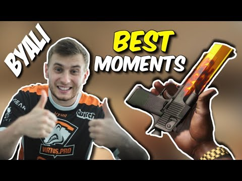 BYALI I BOŻYDAR ROZDAJĄ HEADY Z DEAGLA, VAC SHOT, MOLOTOV FAIL - CSGO BEST MOMENTS