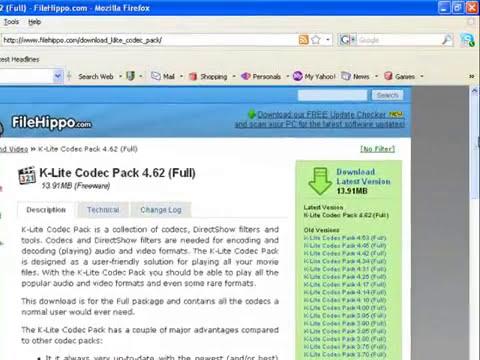 Downlod klite codec pack