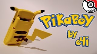 "[GAME BOY COLOR CUSTOM] POKEMON: PIKACHU ""PIKABOY"" EDITION by e4i - 2014/2015"