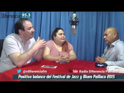 Entrevista en Hora Trece de Radio Diferencia 95.3 Mhz - Festival de Jazz y Blues en Paillaco