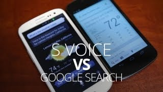 Google Search vs S Voice - Voice Assistant Battle!