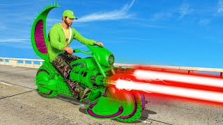 NEW $4,500,000 LASER BEAM BIKE! (GTA 5 DLC)