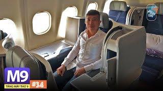 [M9] #34: Bay hạng thương gia Malaysia Airlines sao mà thích thế!   Yêu Máy Bay