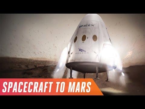 SpaceX is sending spacecraft to Mars in 2018