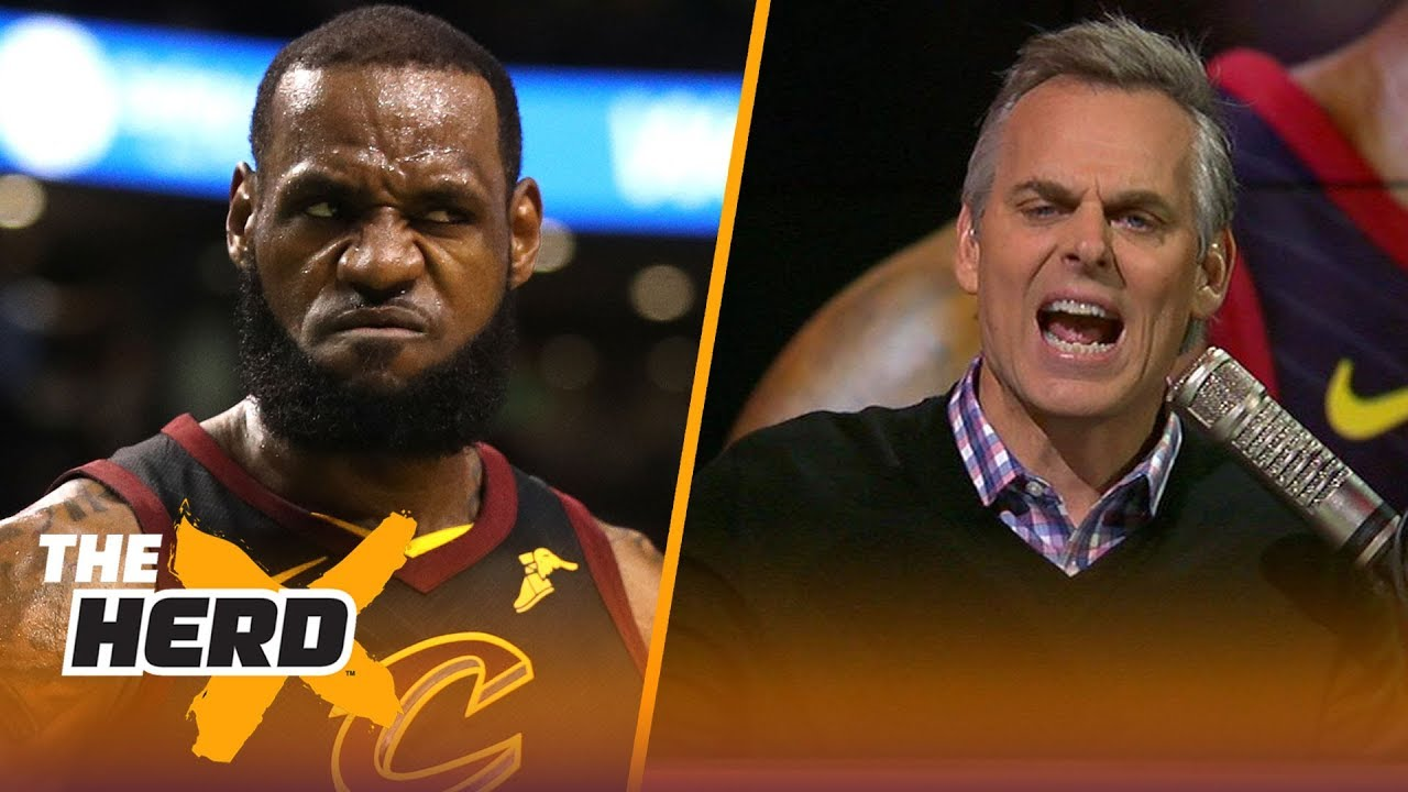 Colin Cowherd on why it would not be crazy for LeBron James to sit out next year | NBA | THE HERD