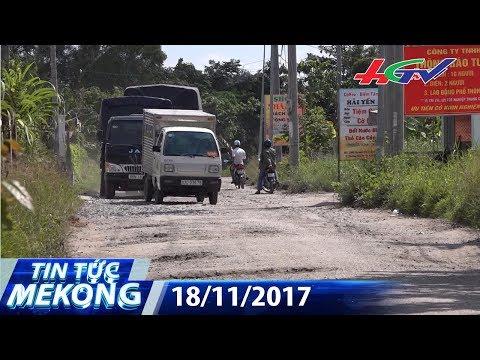 Né trạm phu phí, xe cày nát đường nông thôn | TIN TỨC MEKONG - 18/11/2017 thumbnail