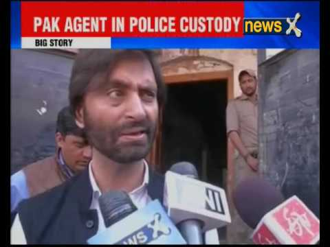 JKLF chief Yasin Malik arrested in Srinagar
