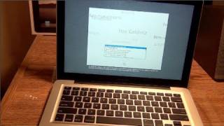 "Late 2011 Apple Unibody MacBook Pro 13"" 2.8 GHZ Core i7 8 GB RAM Unboxing Mac OS X LION PREINSTALLED"