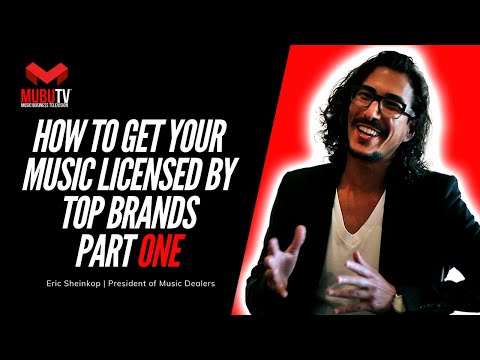 MUBUTV: Insider Video Series Season 3 Episode #33 President of Music Dealers Eric Sheinkop Pt.1