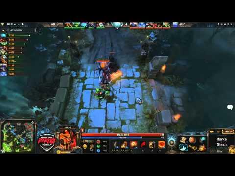 4ASC vs NiP Game 2  joinDOTA MLG Pro League Europe  durkadota  Slesh