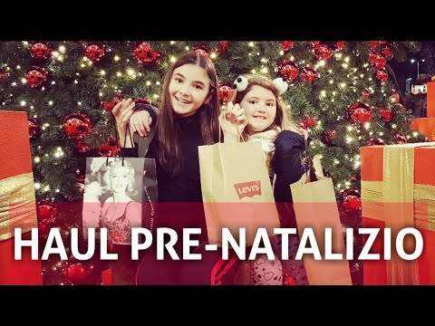 SHOPPING PRIMA DI NATALE   CHRISTMAS HAUL 2018 by Marghe Giulia Kawaii