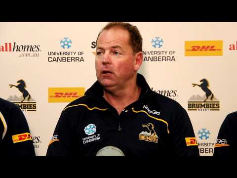 Brumbies Coach Jake White previews the clash with the Hurricanes