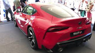 2019 Toyota Supra with a Milltek Exhaust at Goodwood
