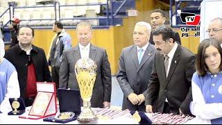 تتويج فريق سبورتنج بـ«كأس مصر» لكرة السلة