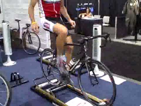 E-Motion Floating Roller Bike Trainer
