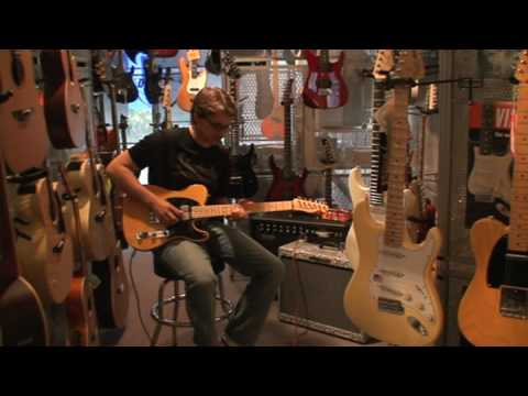 Veitz Guitars test telecaster  vintage 52 humbucker; hot rod ed limite Music Videos