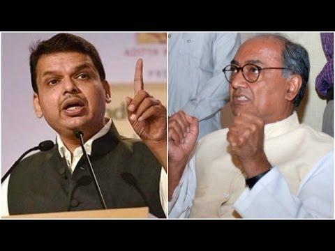 Maharashtra CM Devendra Fadnavis Sends Legal Notice To Digvijay Singh