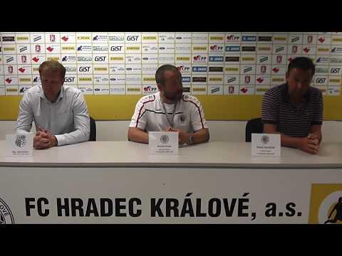 Tisková konference po utkání FC Hradec Králové - FK Ústí nad Labem