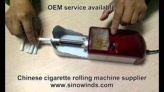Chinese cigarette rolling machine supplier