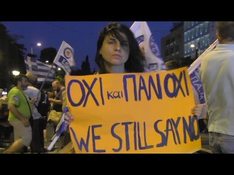 Thousands Protest As Greek Parliament Approves Second Round of Austerity Measures