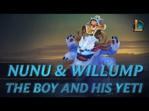 Nunu & Willump: To Adventure!   Champion Trailer - League of Legends