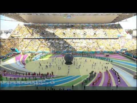 World Cup 2014 Opening Ceremony Sao Paulo Brasil Brazil Croatia
